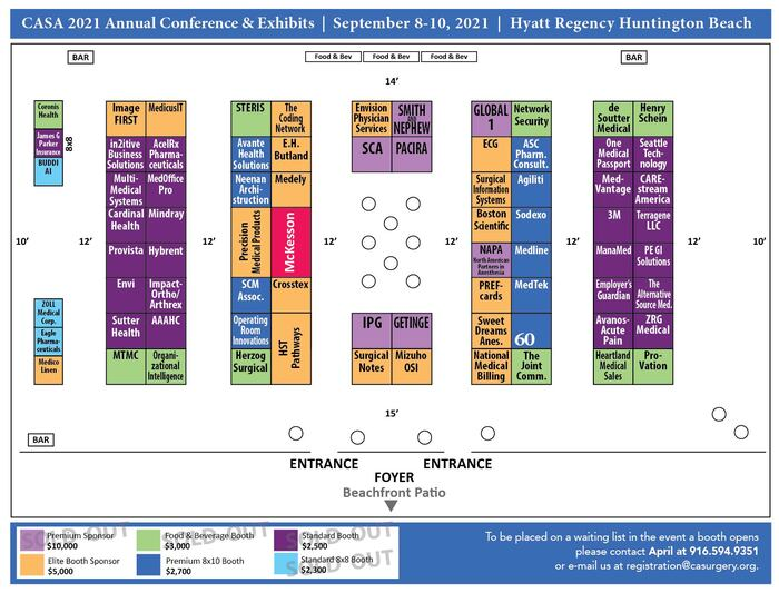 2021 Conference Floorplan Photo